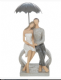 Summer Shower Couple Sitting on a Heart Figurine From the Shudehill Range 60240